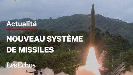 Les images du nouveau système de missiles de la Corée du Nord