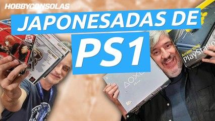 """¡Juegos japoneses muy locos para PS1! El tío Bruno recupera su """"pley"""""""