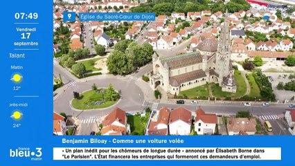 17/09/2021 - Le 6/9 de France Bleu Bourgogne en vidéo