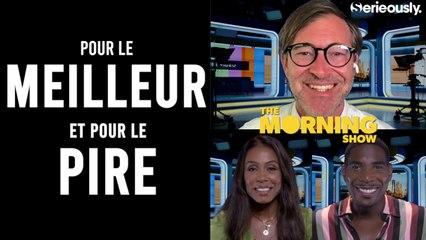THE MORNING SHOW : l'interview de Mark Duplass, Karen Pittman et Desean Terry