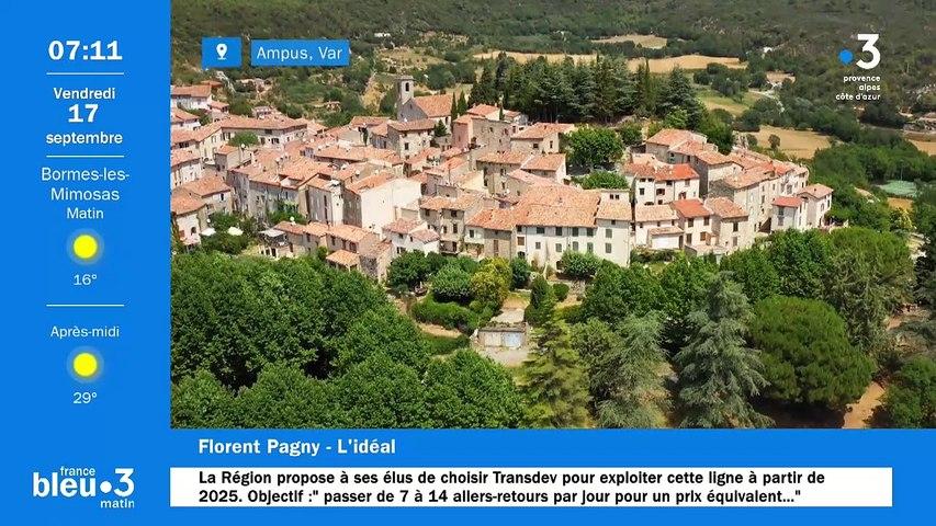 17/09/2021 - Le 6/9 de France Bleu Provence en vidéo