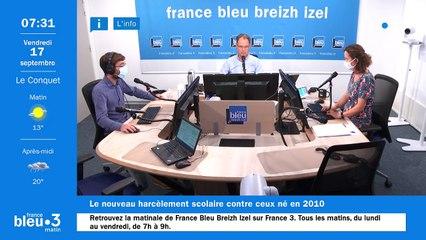 17/09/2021 - Le 6/9 de France Bleu Breizh Izel en vidéo