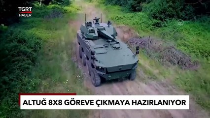 Zorlu Testleri Geçti: Türkiye'nin Yeni Zırhlı Aracı Altuğ 8x8 Göreve Hazırlanıyor!