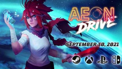 Aeon Drive - Walkthrough officielle (gamescom 2021)