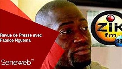 Revue de Presse du 17  Septembre 2021 avec Fabrice Nguema
