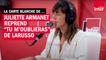 """Carte blanche - Quand Juliette Armanet reprend """"Tu m'oublieras de Larusso"""""""