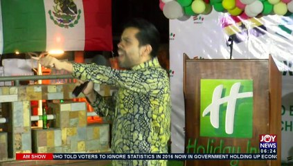 Mexican community in Ghana showcases its rich culture through food and music  - AM News (17-9-21)