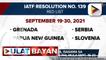 Apat na bansa, isasama sa red list countries ng Pilipinas mula Sept. 19-30