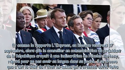 Emmanuel Macron - cette info secrète qu'il a lui-même fait fuiter dans la presse