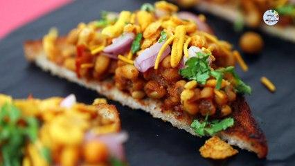 Bread Cube Chaat   ब्रेड क्युब चाट रेसिपी   Healthy Chaat Recipe   Easy Snacks Recipe   Mansi