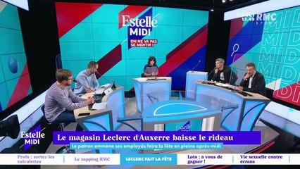Le magasin Leclerc d'Auxerre baisse le rideau - 17/09