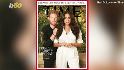 Prince Harry and Meghan Have a Signature Pose