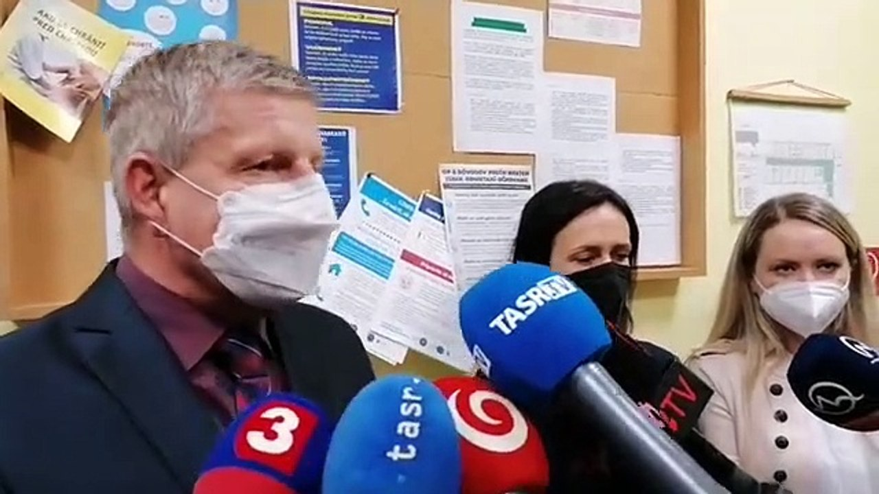 ZÁZNAM: Minister zdravotníctva V. Lengvarský na RÚVZ Bardejov