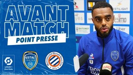 """ESTAC-Montpellier   T.Dingomé : """"Heureux de mon retour dans le groupe"""""""