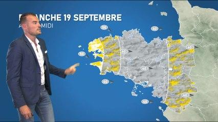 Bulletin météo pour le dimanche 19 septembre 2021