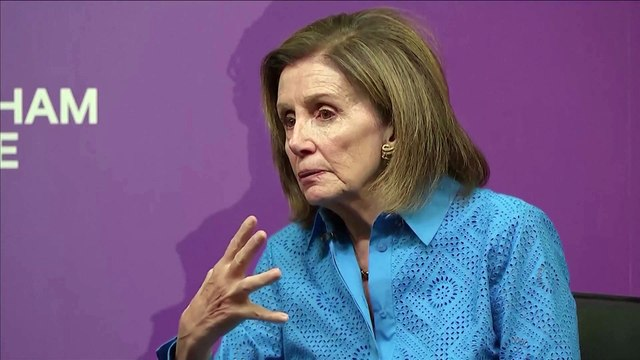 US House Speaker Nancy Pelosi warns UK that 'destruction of the Good Friday accords' will rule out UK-US trade deal