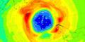 Les scientifiques alertent sur la taille du trou dans la couche d'ozone Antarctique