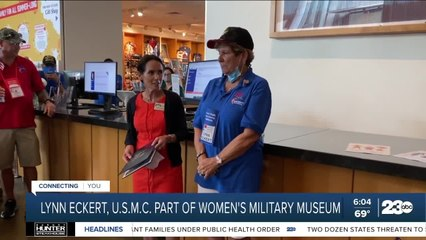 Kern County veteran Lynn Eckert inducted into the Women in Military Service America Memorial