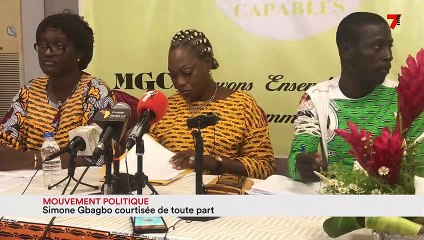 Mouvement politique : Simone Gbagbo courtisée de toute part