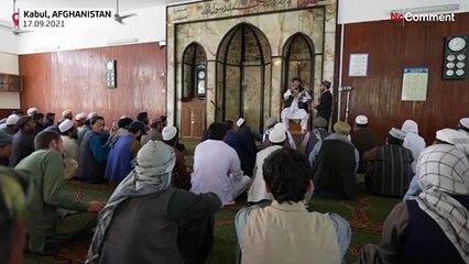 Friday prayers imam in Kabul praises Taliban ascent