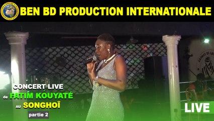 Concert Live de Fatim Kouyate au Songhoi du Golf Partie 2