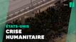 Joe Biden interpellé sur la situation de milliers de migrants sous un pont à la frontière avec le Texas