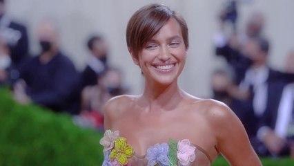 Irina Shayk Brings Back the Naked Dress at the Met Gala
