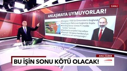 Türkiye'ye Ilımlı Mesajın Altından Karabağ İhaneti Çıktı! Paşinyan Neyin Peşinde? | TGRT Haber