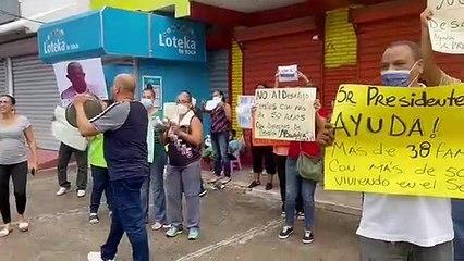 Residentes del Evaristo morales preocupados por desalojo