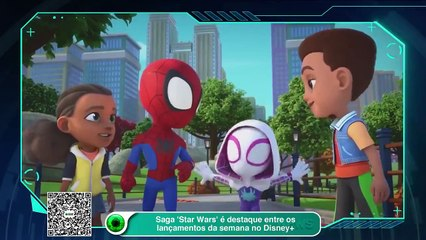 Saga 'Star Wars' é destaque entre os lançamentos da semana no Disney+