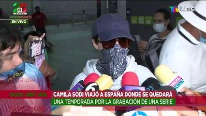 Camila Sodi defiende a su exesposo Diego Luna tras supuesto desvío de fondos.   Ventaneando