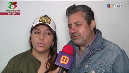 Pese a la pérdida de su bebé, el actor Julio Alegría y su esposa siguen adelante.   Ventaneando