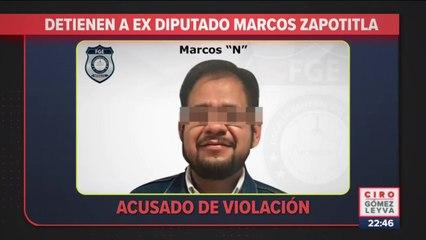 Detienen a ex diputado acusado de violación