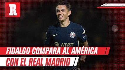 Álvaro Fidalgo comparó al América con el Real Madrid: 'En ambos equipos ganar es una obligación'