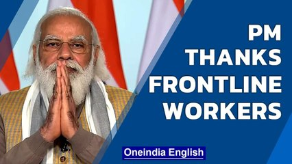 India sets record with 2 crore vaccines in a day, PM congratulates frontline workers | Oneindia News