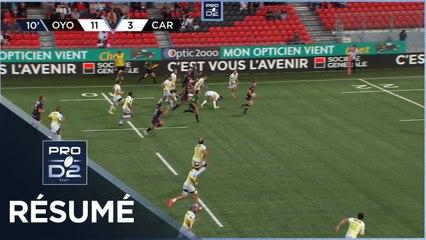 PRO D2 - Résumé Oyonnax Rugby-US Carcassonne: 23-6 - J04 - Saison 2021/2022