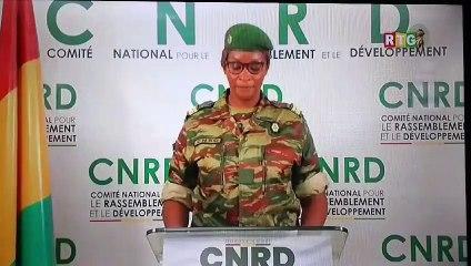 Importants communiqués du CNRD à Conakry ce 17 septembre 2021