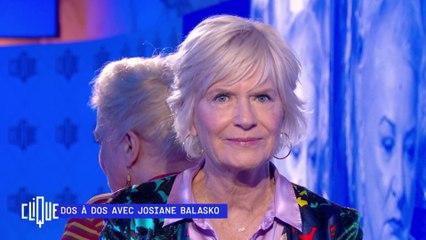 Dos à dos avec Josiane Balasko - Clique - CANAL +