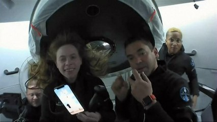 A quoi ressemble la vie dans l'espace pour les touristes de SpaceX ?
