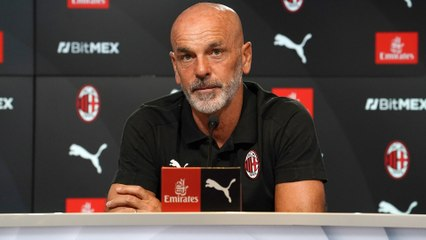 Juventus v AC Milan, Serie A 2021/22: the pre-match press conference
