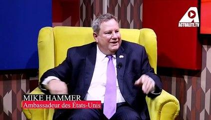 A la suite des agressions subies par quelques journalistes, Mike Hammer a visité ACTUALITE.CD
