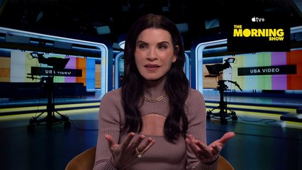 Julianna Margulies talks joining The Morning Show S2!