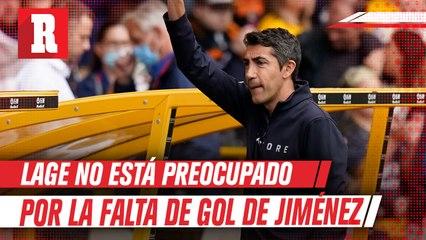 DT del Wolves no está preocupado por la falta de gol de Jiménez