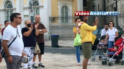 Andria: il ritorno della banda musicale per San Riccardo, grazie ad un'iniziativa autonoma di Unibat - i video