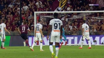 Serie A : Bousculée, l'Atalanta s'impose sur le fil contre Salernitana