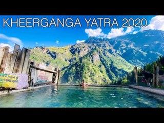 People Make Kheerganga Trek In Himachal Pradesh, India And Witness Scenic Beauty Of Mountains