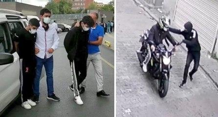 İstanbul'da bıçaklı organize gasp dehşeti
