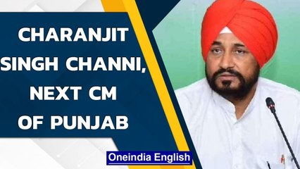 Charanjit Singh Channi to be the next CM of Punjab, Rawat makes announcement | Oneindia News