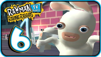 Rayman Raving Rabbids TV Party Walkthrough Part 6 (Wii) No Commentary