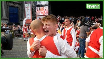 Namur : Robin Botron remporte l'Échasse d'or